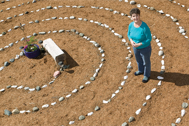 """Walking a labyrinth is a unique and truly memorable way to honor and celebrate various milestones in your life,"" says Linda Magnusen."