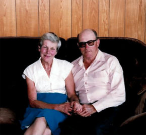 Jean and Norm Sieffert started farming the property in 1959. Photo courtesy Sieffert family.